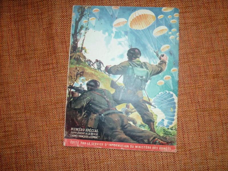 Parachutistes (numéro spécial, supplément à la revue 'L'Armée française au combat') -ALPINS-JANV2 P1100011