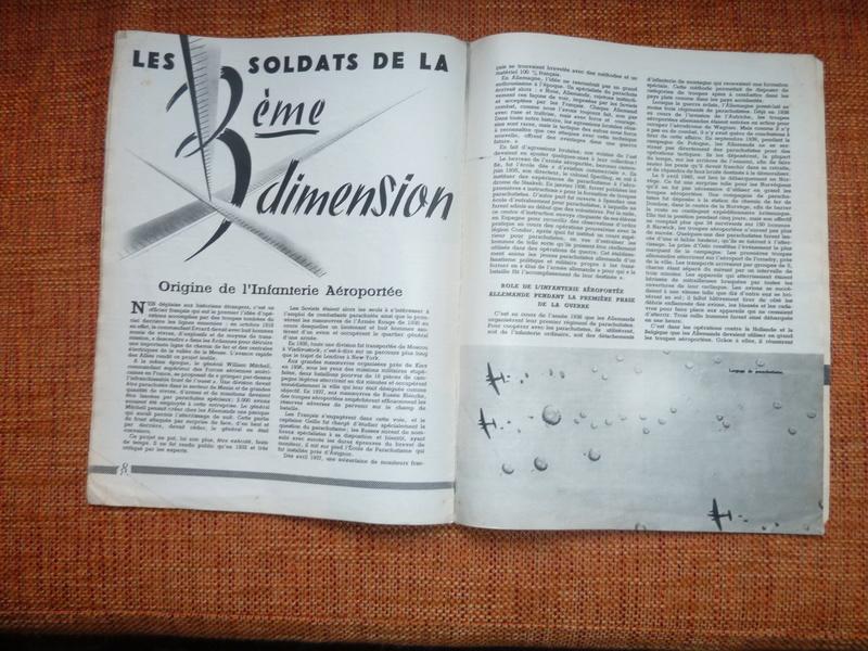 Parachutistes (numéro spécial, supplément à la revue 'L'Armée française au combat') -ALPINS-JANV2 P1100012