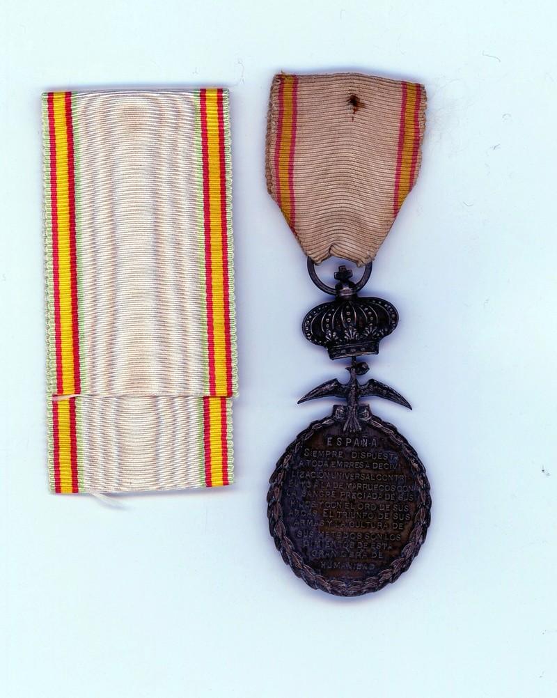 Médaille de la Paz Maroc, plus  ruban neuf ESC  - MAI 2 Vendue Paz01510