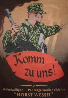 Casque M42 EF 64 Waffen SS provenant de la libération de Thiers 26002310