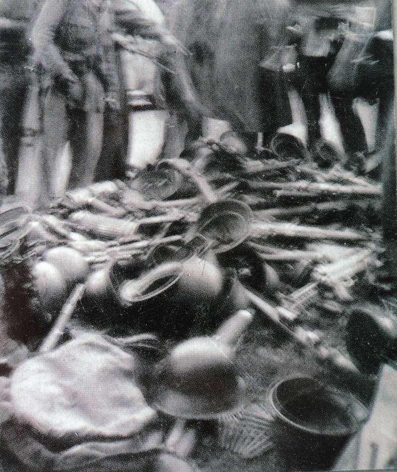 Casque M42 EF 64 Waffen SS provenant de la libération de Thiers Dsc05311