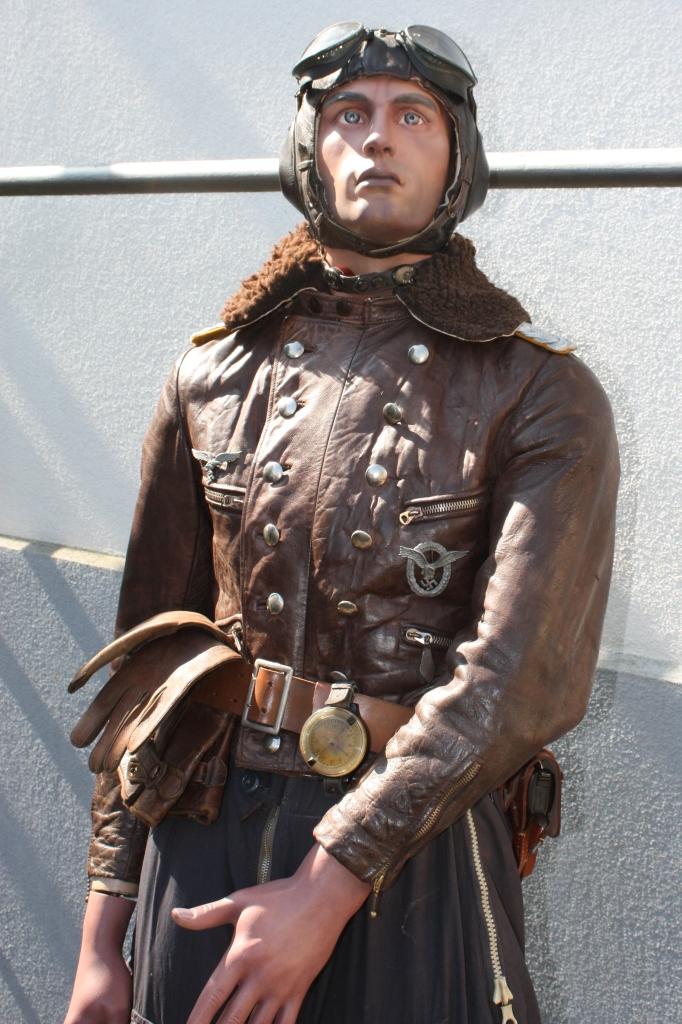Mannequin officier pilote de la Luftwaffe  Pilote29