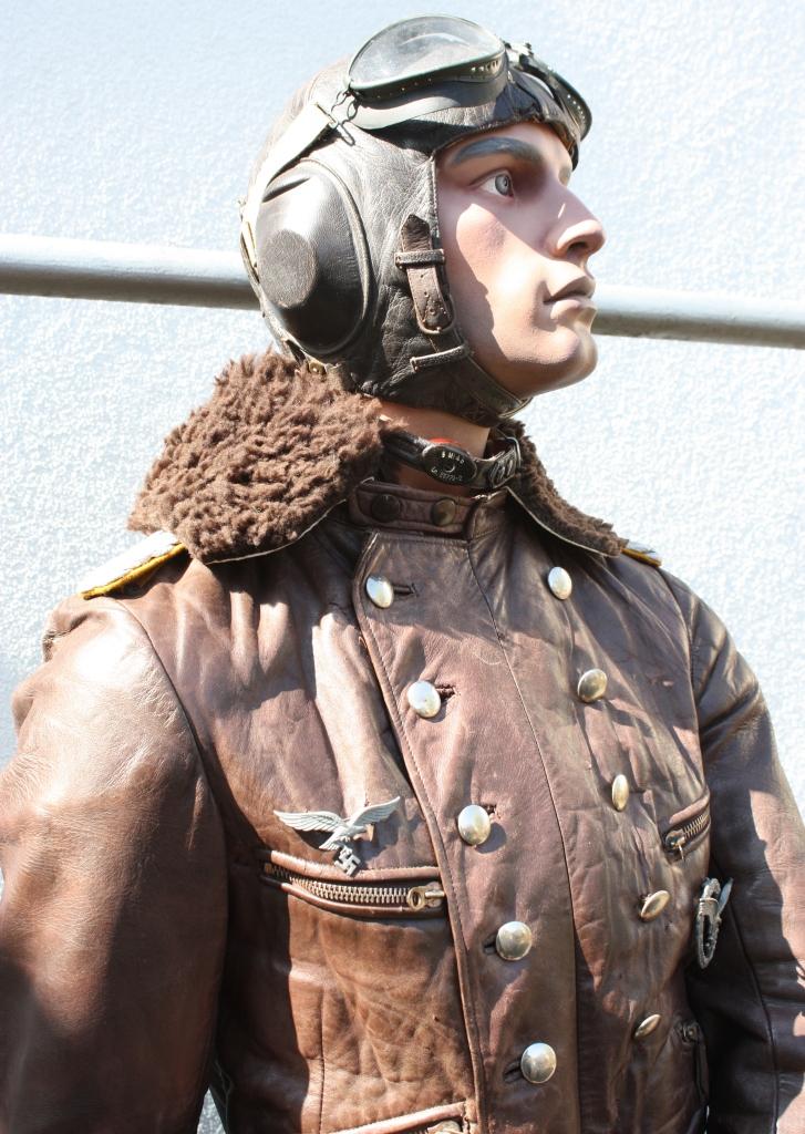 Mannequin officier pilote de la Luftwaffe  Pilote32
