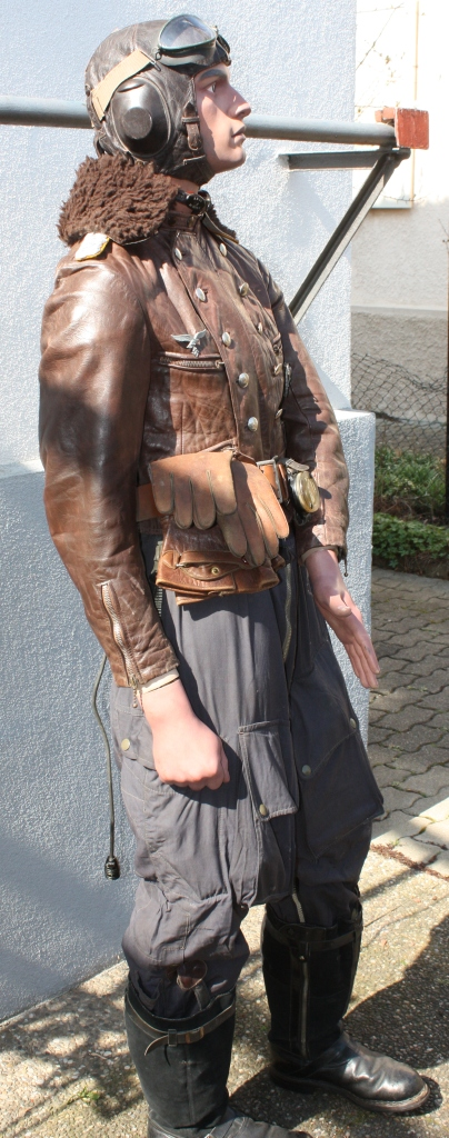 Mannequin officier pilote de la Luftwaffe  Pilote33