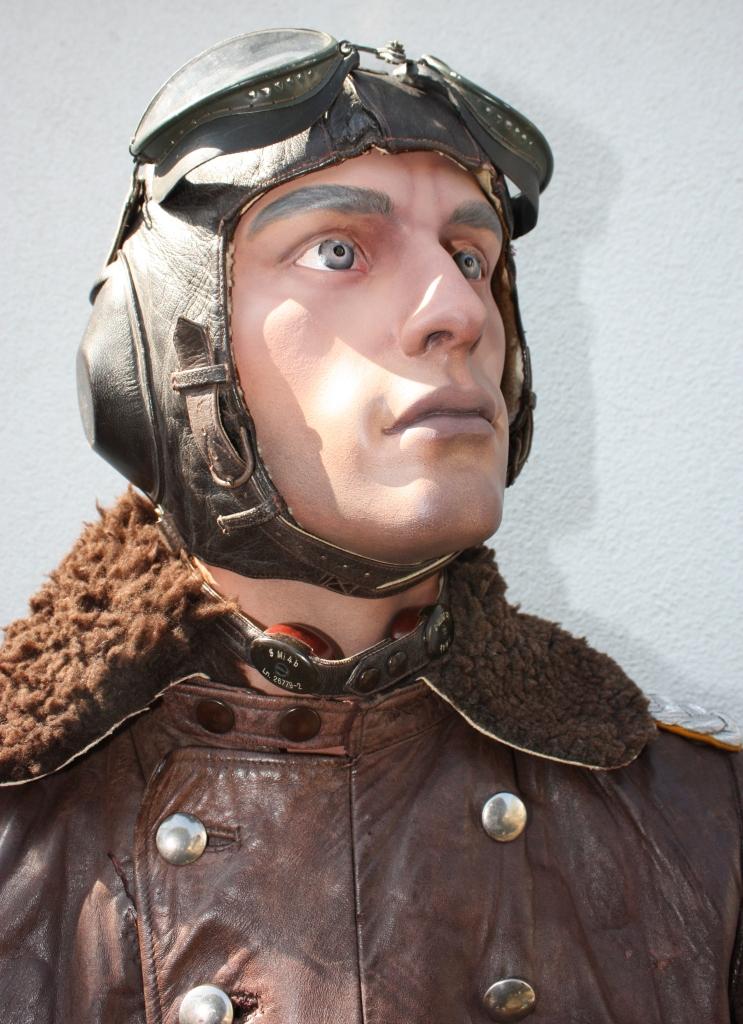 Mannequin officier pilote de la Luftwaffe  Pilote36