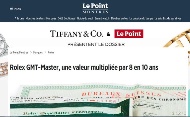Montre vendue à regret pour projet autre - Rare Rolex GMT 1675 Maxi Dial - Boîte - Papier Expert Rolex reconnu- Possible échange étudie proposition équitable seulement sur Rolex Daytona acier ou Patek Philippe Le_poi10