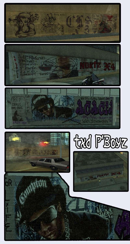 Graffiti ModPack - By P'Boyz Graffi45