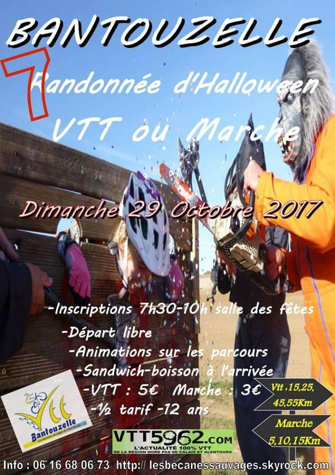 Bantouzelle rando Halloween dimanche 29 octobre 22730410