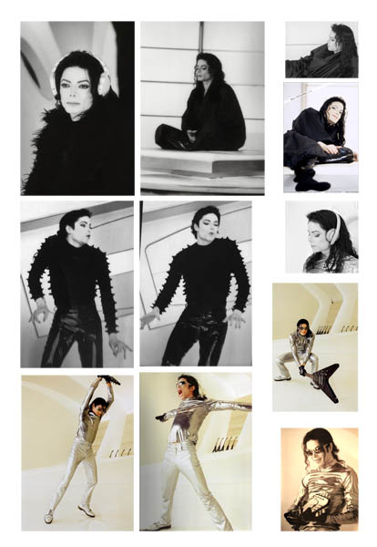 Adesivos de Michael Jackson Scream10