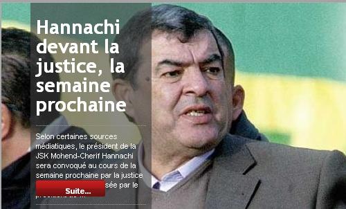 [Dossier] : Affaire Raouraoua - Hannachi - Page 10 20110111