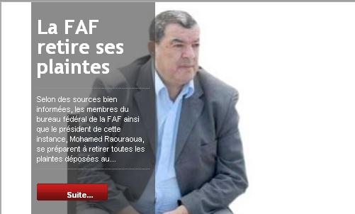 [Dossier] : Affaire Raouraoua - Hannachi - Page 16 20110311