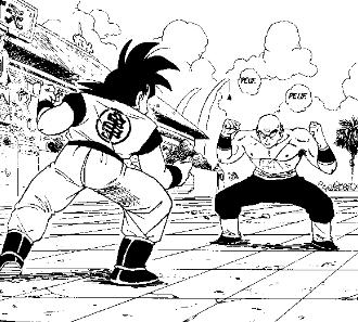 Religious polarity and symbolism in comics Goku10