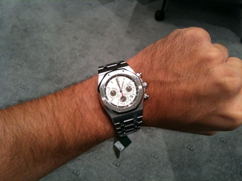 Royal Oak Chronographe : Haute Horlogerie ? 43954010