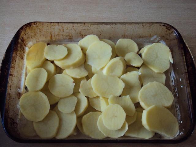 Gratin de pommes de terre aux trompettes des morts Repas_13