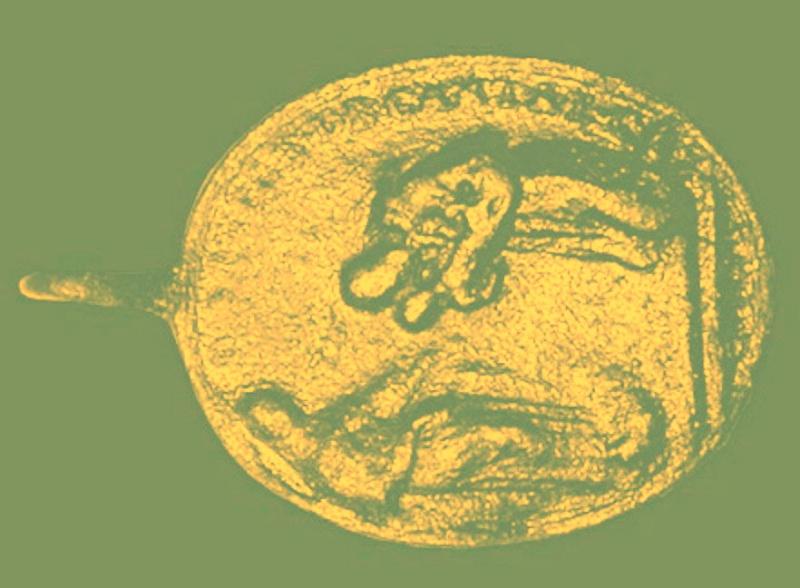 Médaille St-François-d'Assise & San Felix de Cantalicio - XVIIIème  00010p10