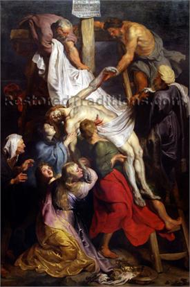 Médaille à la Pieta et aux deux anges - XVII / XVIIIème La_des10