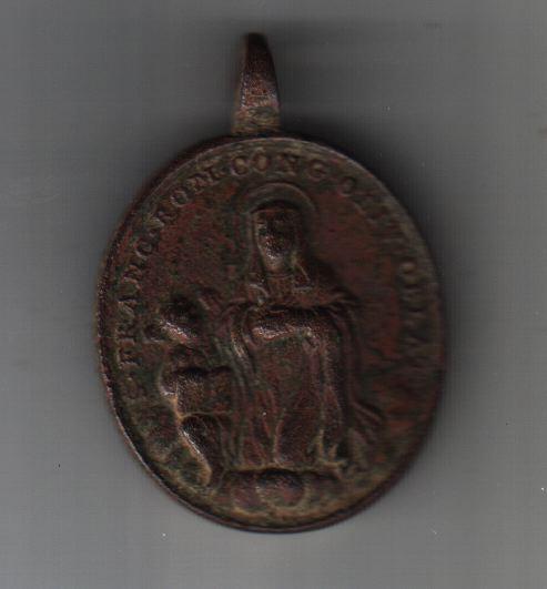 Médaille XVIII ème - Ste-Françoise-Romaine (revers à confirmer) Med_re11