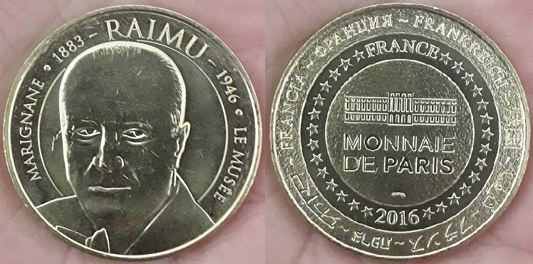 Médaille et monnaie souvenir Raimu Raimu_10