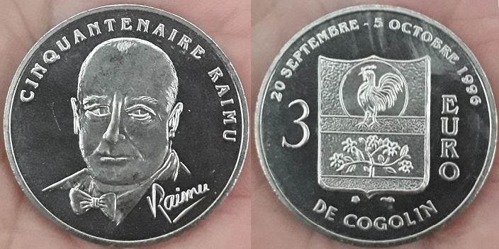 Médaille et monnaie souvenir Raimu Raimu_11