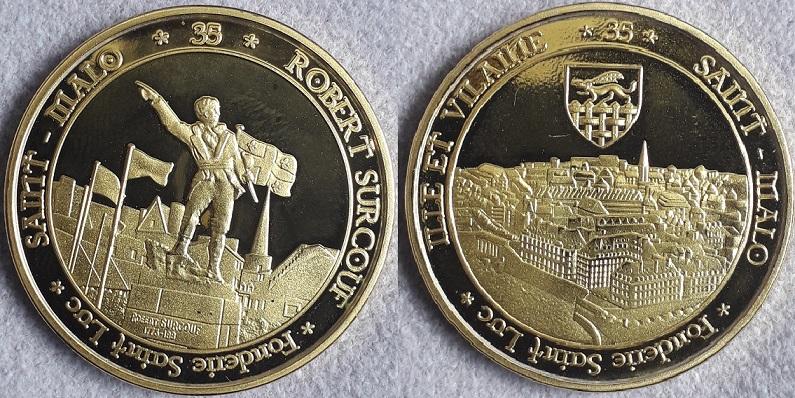 Médaille st Malo / Surcouf St_mal10