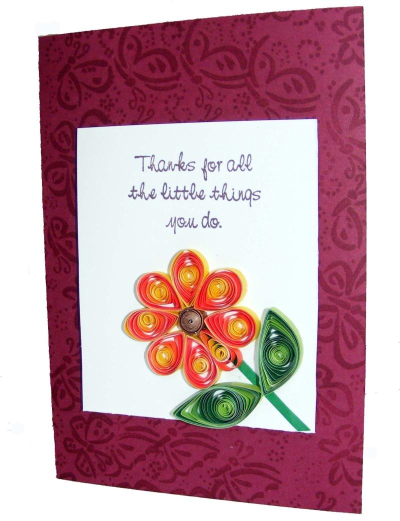 Graduated card pattern Daisy_10