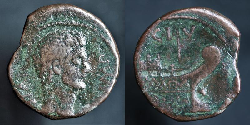 Très rare dupondius de Vienne August15