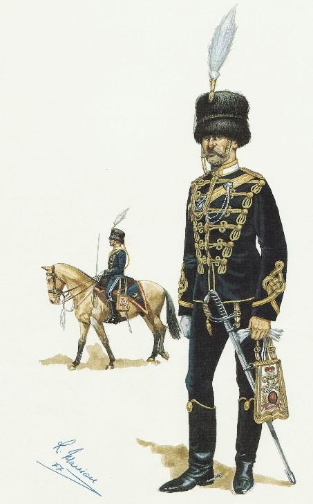 Montreal Engineers, Victorian era Canadian Militia Uniform 8thhus10