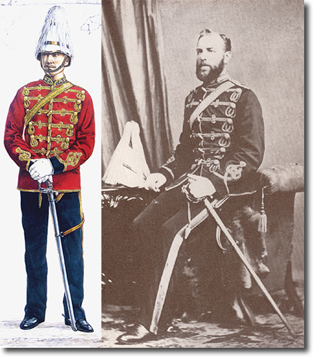 Montreal Engineers, Victorian era Canadian Militia Uniform Rcmp1810