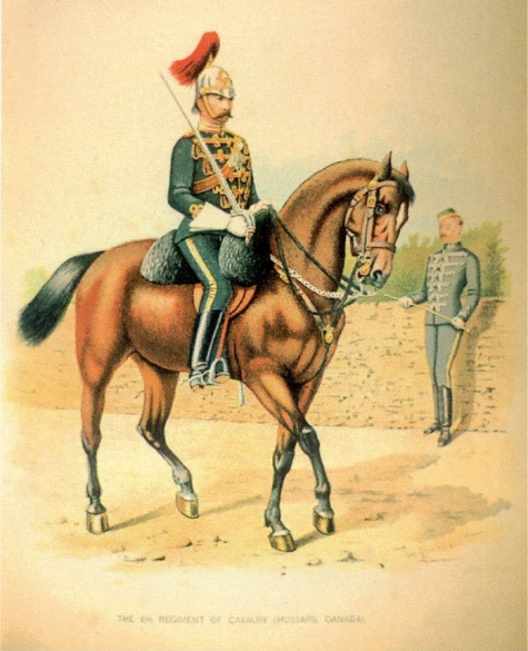 Montreal Engineers, Victorian era Canadian Militia Uniform V3_c1_10