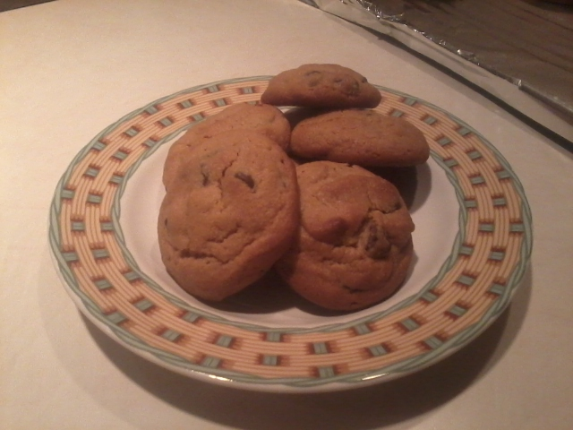 Tri's Peanut butter and chocolate chip cookies Cookie10