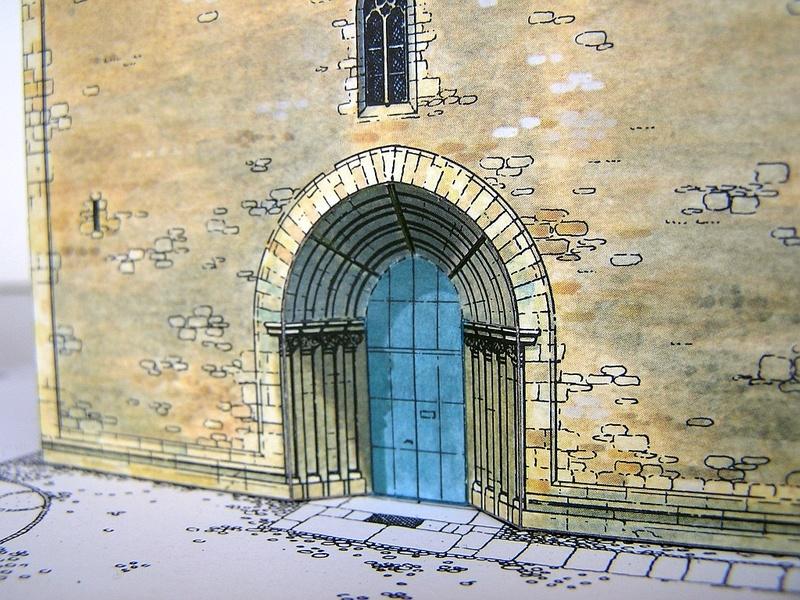 Magni-Kirche Braunschweig 1:175 Keddig-Verlag 1010
