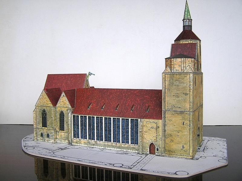 Magni-Kirche Braunschweig 1:175 Keddig-Verlag 110
