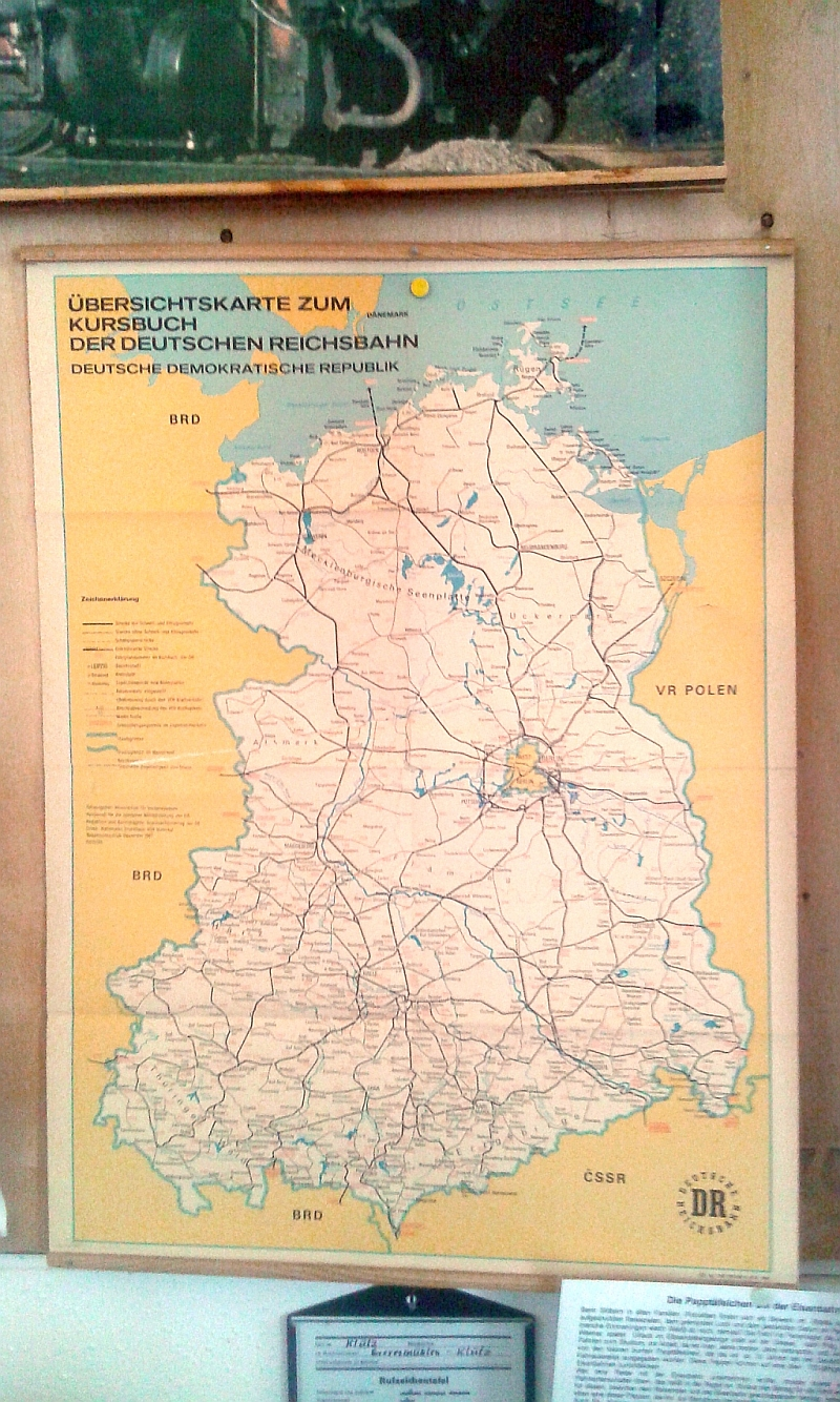 """Schmalspurbahn """"De lütt Kaffeebrenner"""" in Klütz (Mecklenburg-Vorpommern) 1115"""