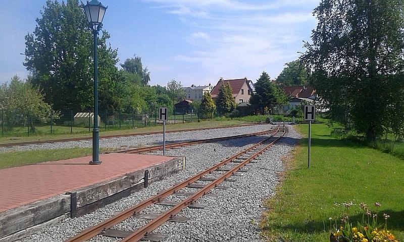 """Schmalspurbahn """"De lütt Kaffeebrenner"""" in Klütz (Mecklenburg-Vorpommern) 1412"""