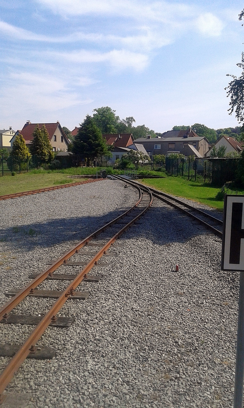 """Schmalspurbahn """"De lütt Kaffeebrenner"""" in Klütz (Mecklenburg-Vorpommern) 1511"""