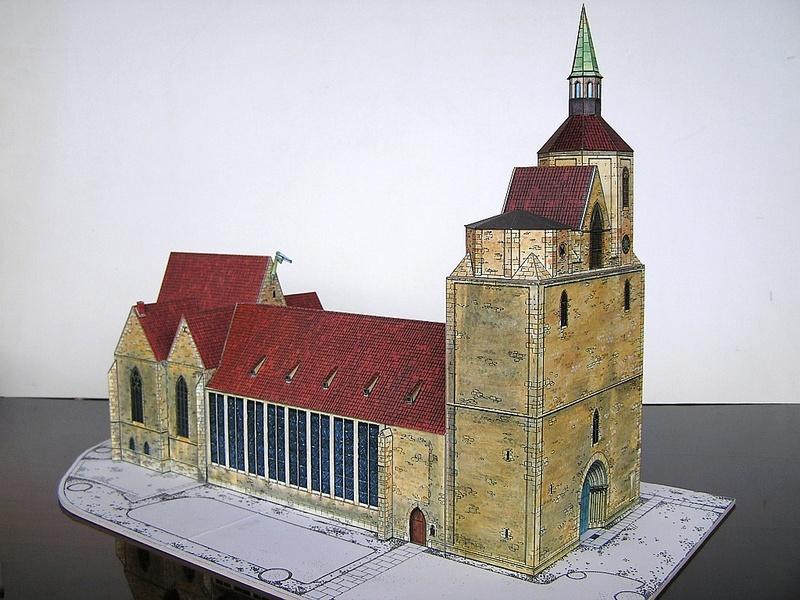 Magni-Kirche Braunschweig 1:175 Keddig-Verlag 210