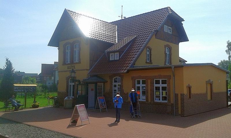 """Schmalspurbahn """"De lütt Kaffeebrenner"""" in Klütz (Mecklenburg-Vorpommern) 216"""