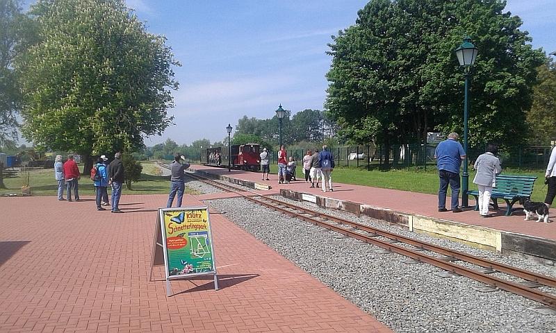 """Schmalspurbahn """"De lütt Kaffeebrenner"""" in Klütz (Mecklenburg-Vorpommern) 2310"""