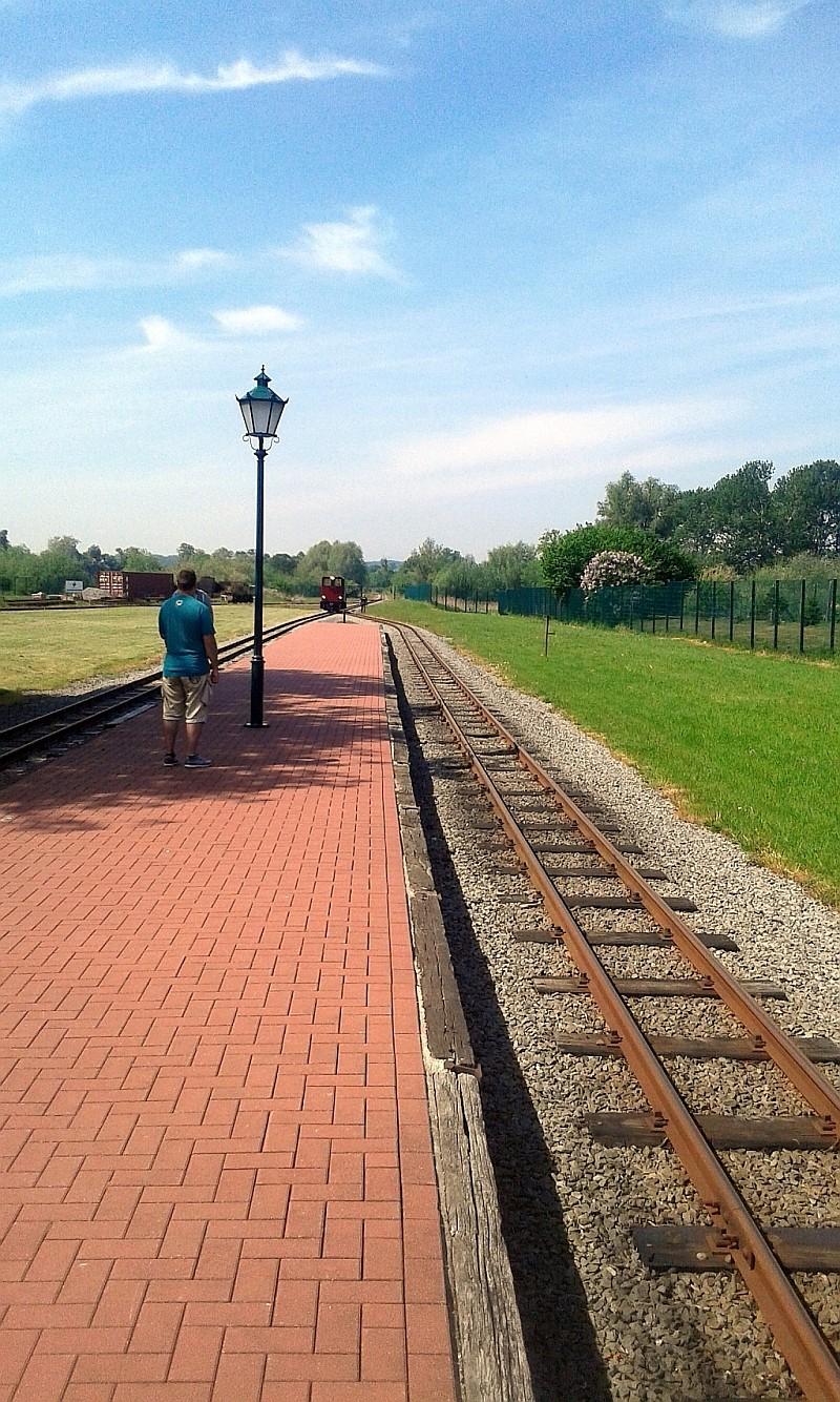 """Schmalspurbahn """"De lütt Kaffeebrenner"""" in Klütz (Mecklenburg-Vorpommern) 23a10"""