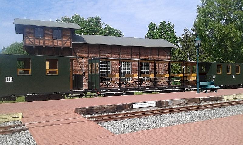 """Schmalspurbahn """"De lütt Kaffeebrenner"""" in Klütz (Mecklenburg-Vorpommern) 2410"""