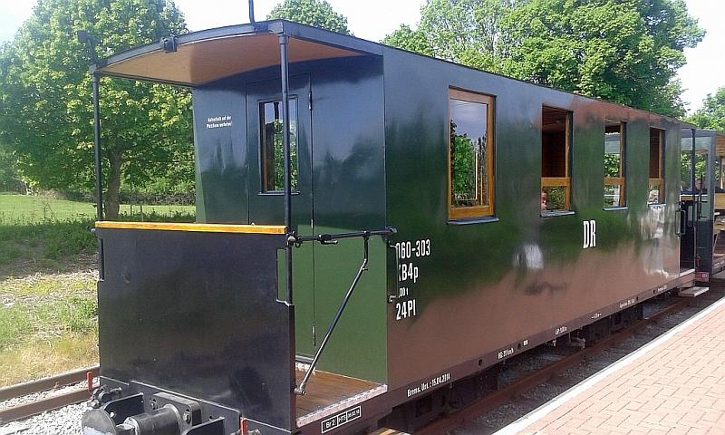 """Schmalspurbahn """"De lütt Kaffeebrenner"""" in Klütz (Mecklenburg-Vorpommern) 2610"""