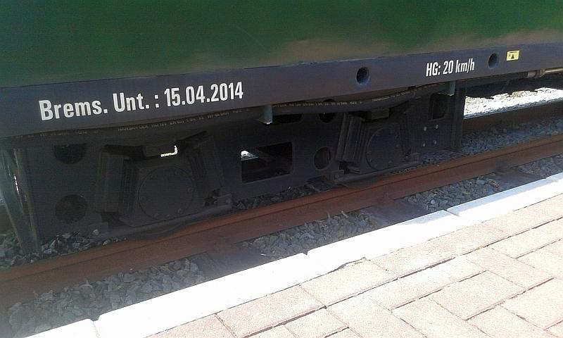 """Schmalspurbahn """"De lütt Kaffeebrenner"""" in Klütz (Mecklenburg-Vorpommern) 2710"""
