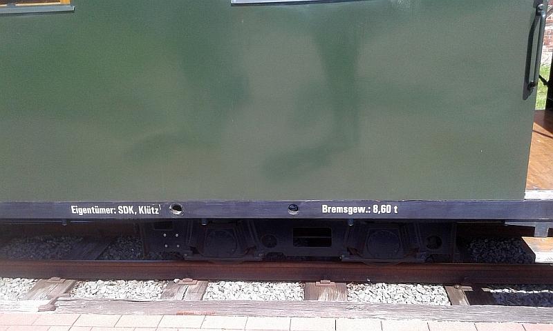 """Schmalspurbahn """"De lütt Kaffeebrenner"""" in Klütz (Mecklenburg-Vorpommern) 2810"""