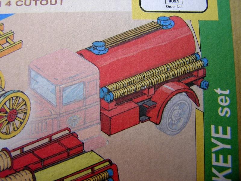 Blech-/Kartonmodelle Feuerwehrfahrzeuge von Kovap in 1:32 313