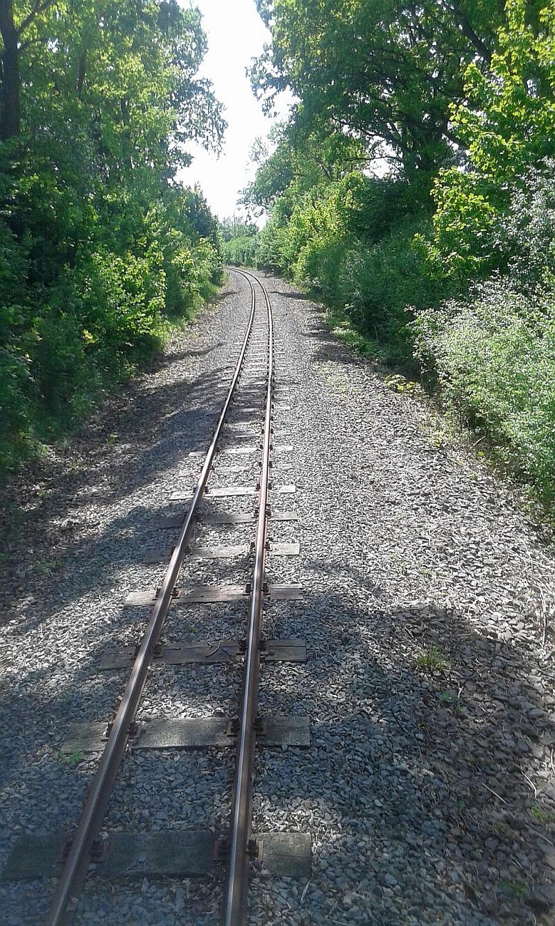 """Schmalspurbahn """"De lütt Kaffeebrenner"""" in Klütz (Mecklenburg-Vorpommern) 34a10"""
