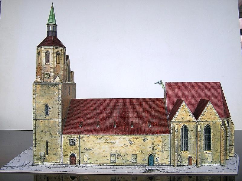 Magni-Kirche Braunschweig 1:175 Keddig-Verlag 410