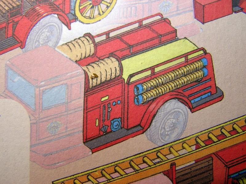 Blech-/Kartonmodelle Feuerwehrfahrzeuge von Kovap in 1:32 413