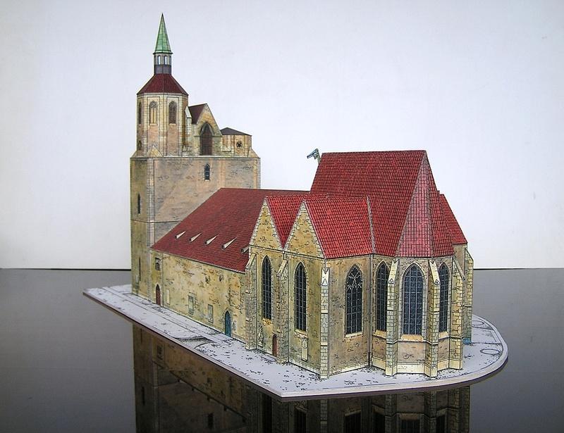 Magni-Kirche Braunschweig 1:175 Keddig-Verlag 510