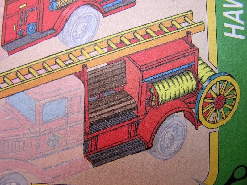 Blech-/Kartonmodelle Feuerwehrfahrzeuge von Kovap in 1:32 513