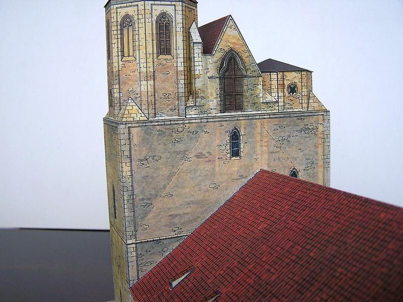 Magni-Kirche Braunschweig 1:175 Keddig-Verlag 710